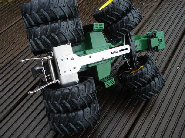 Bruder traktor ferngesteuert umbau