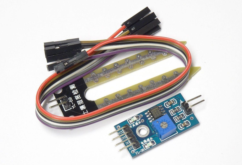 Feuchtigkeitssensor Hygrometer Bodenfeuchte Sensor Modul YL-69 für Arduino