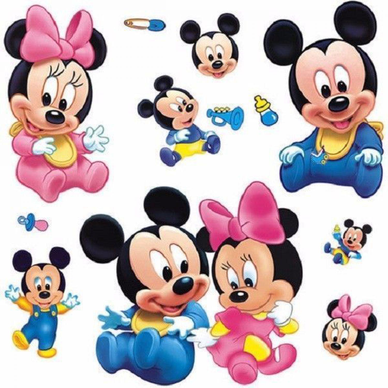Mickey Maus Disney Kinder Wandsticker Wandtattoo Aufkleber Sticker ...