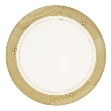 deckenleuchte eglo ufo deckenlampe glas kiefer holz rustikal lampe leuchte 38941 ebay. Black Bedroom Furniture Sets. Home Design Ideas