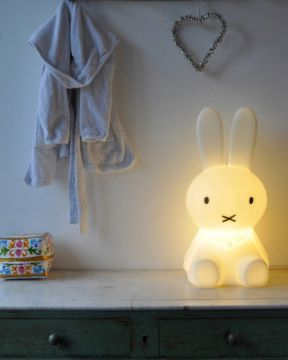 mr maria miffy s klein 50cm hasen leuchte anel rabbit lamp nijntje mr maria led ebay. Black Bedroom Furniture Sets. Home Design Ideas