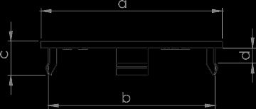 Alu emblema negro mate tapacubos 60 mm AEZ discretamente enzo Dotz Za 1327//n06