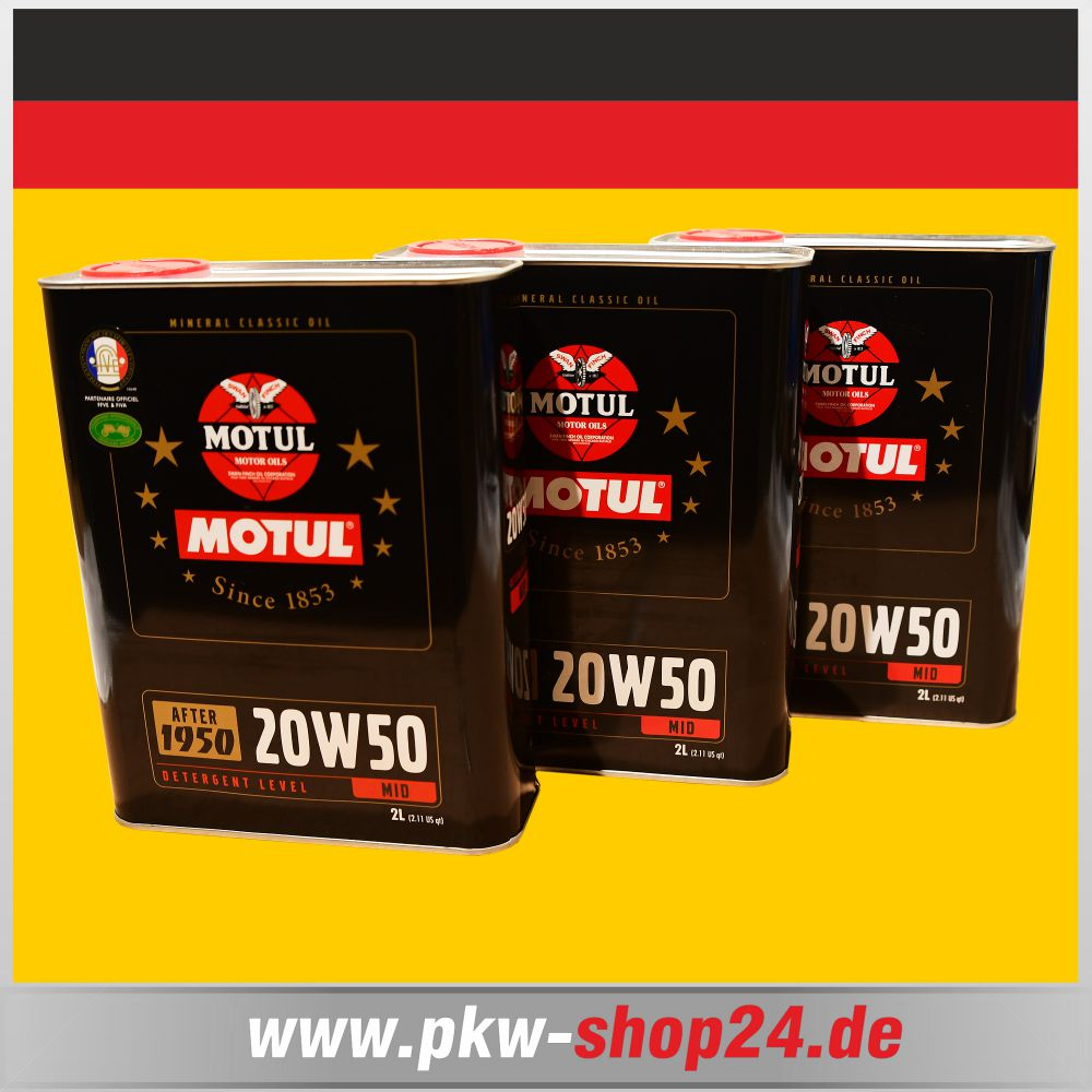 vw t2 pritsche 6 liter mineral l motul 20w50 oldtimer. Black Bedroom Furniture Sets. Home Design Ideas