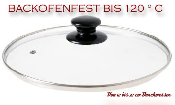 kochtopfdeckel aus glas 12cm 32 cm pfannendeckel topfdeckel deckel pfanne neu. Black Bedroom Furniture Sets. Home Design Ideas