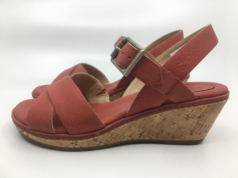 High Timberland A1b9q Sommer Zu Sandale Absatz Leder Details Whittier Gr36 38 Kork Ankle 8n0OPwk