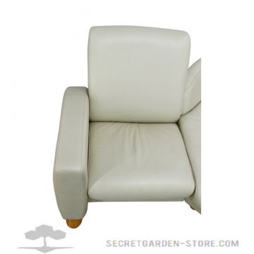 ekornes stressless arion ecksofa cream ledersofa relaxsofa ebay. Black Bedroom Furniture Sets. Home Design Ideas