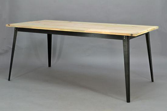 Esstisch im industriedesign tisch industrial rustikal for Tisch industriedesign