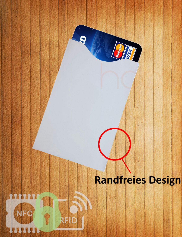 rfid schutzh lle nfc blocker kreditkarte 1x bank ec. Black Bedroom Furniture Sets. Home Design Ideas
