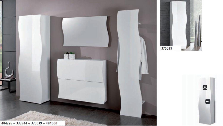 Garderobe set 4 teilig flurm bel onda italian design - Flurmobel design ...