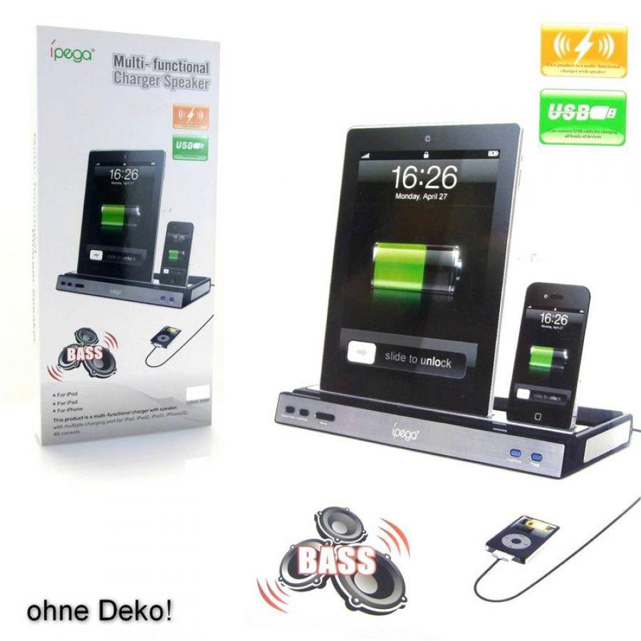 Docking station tisch ladeger t lautsprecher f r ipod for Tisch iphone design