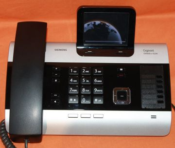 siemens gigaset dx600a isdn mit 3 fach anrufbeantworter ebay. Black Bedroom Furniture Sets. Home Design Ideas