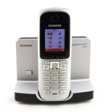 siemens gigaset sx670 isdn schnurloses dect isdn telefon. Black Bedroom Furniture Sets. Home Design Ideas