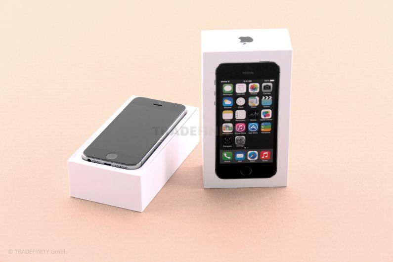 apple iphone 5s 32 gb grey grau ohne sim look in ovp a1457 me435dn a ebay. Black Bedroom Furniture Sets. Home Design Ideas