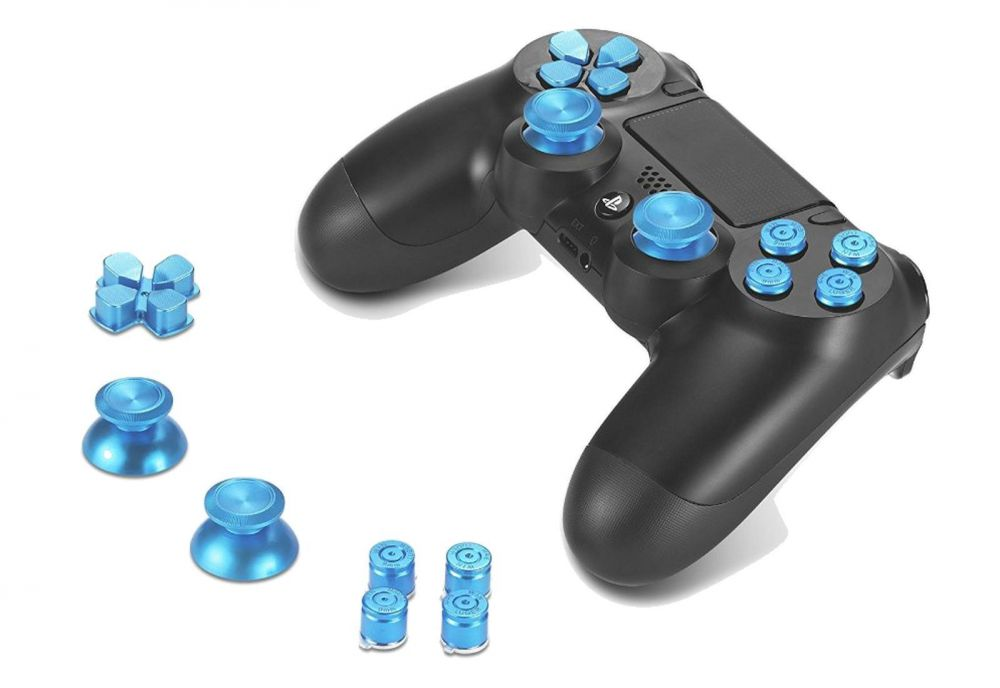 how to add analog stick to dpad controller
