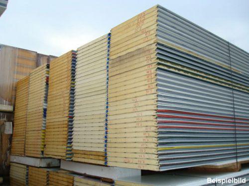 40 mm sandwichplatten wandplatten thermowand isowand. Black Bedroom Furniture Sets. Home Design Ideas