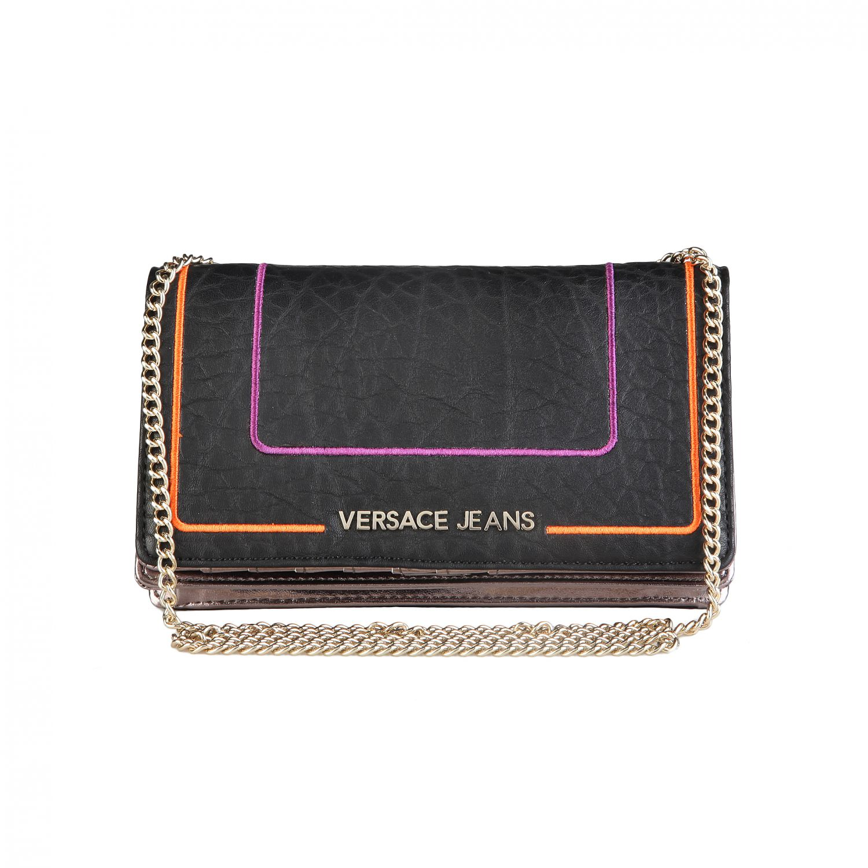 versace jeans damen tasche portmonee geldbeutel handtasche. Black Bedroom Furniture Sets. Home Design Ideas