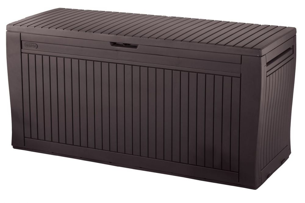 auflagenbox kissenbox 270 liter 100 wasserdicht mit bel ftung anti schimmel ebay. Black Bedroom Furniture Sets. Home Design Ideas