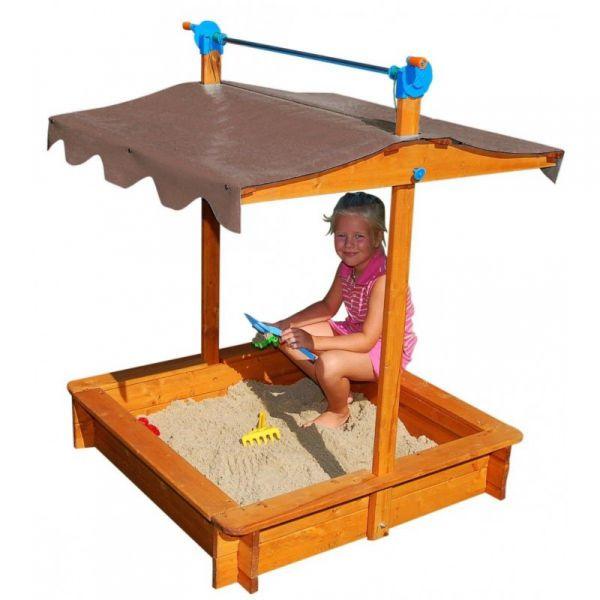 sandkasten felix sandkiste mit absenkbarem dach sandbox. Black Bedroom Furniture Sets. Home Design Ideas