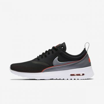 Details about W Nike Air Max Thea Ultra Womens Sneaker Trainers 844926 003 Black Orange Grey show original title