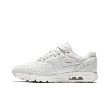 Detalles de Nike Air Max 1 ultra Plush cortos señora 844882 003 gris beige crema nuevo embalaje original ver título original