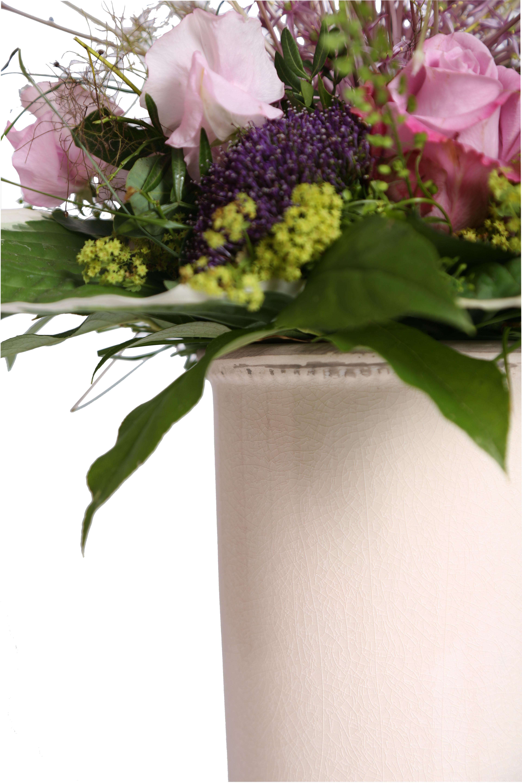 Blumenk bel pflanzk bel blumentopf rund deko terracotta for Blumentopf deko