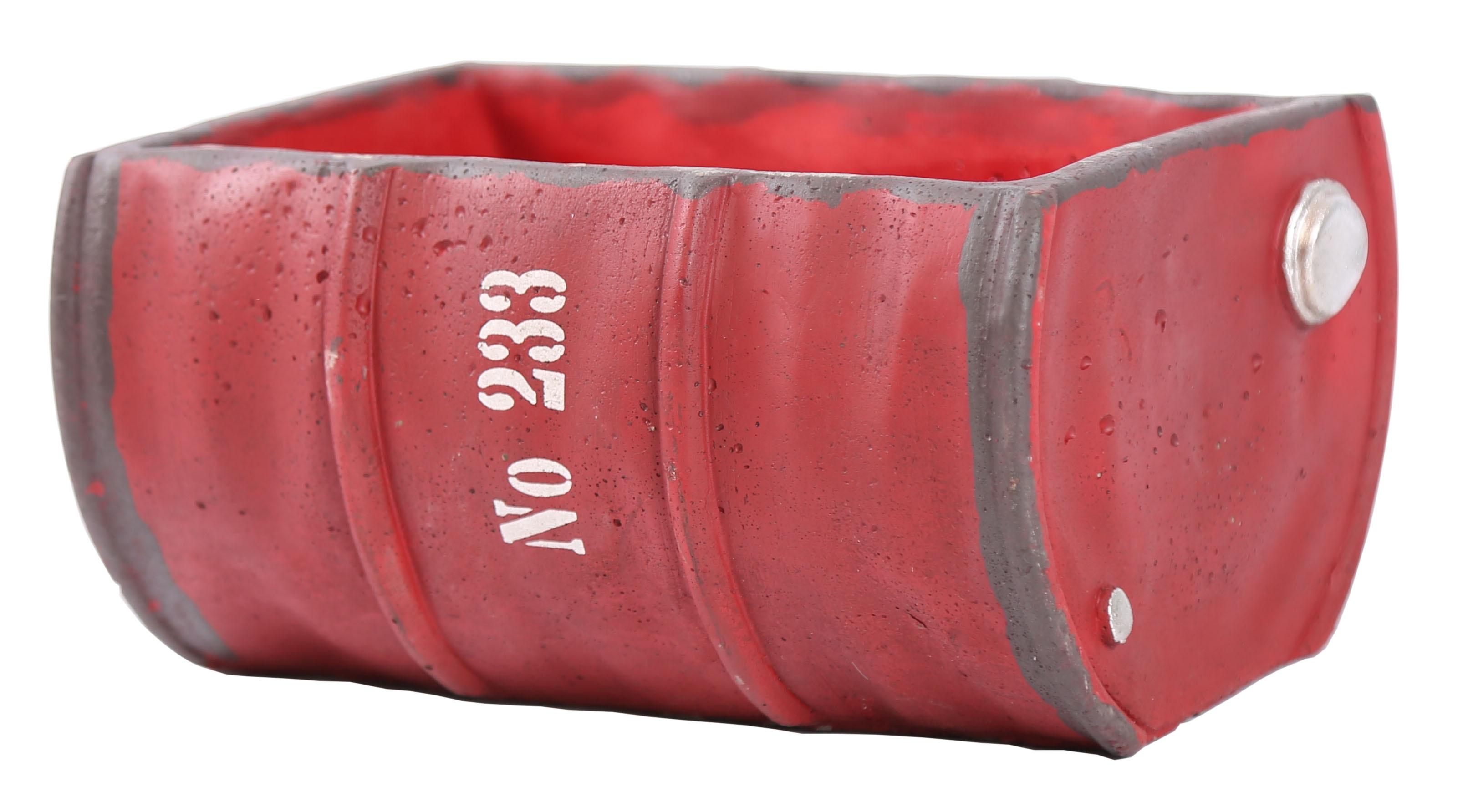Blumentopf rund shabby chic beton bertopf rostoptik for Blumentopf beton